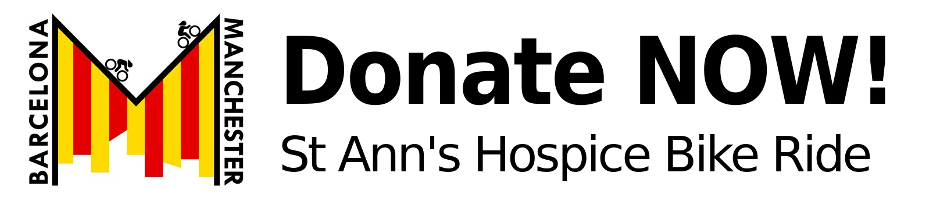 Donate to the bike ride to buy St Ann's Hospice an ambulance
